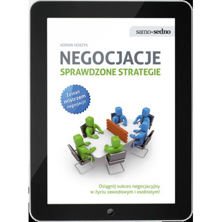 Negocjacje. Sprawdzone strategie (e-book)