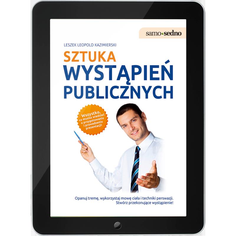 Sztuka wystąpień publicznych (e-book)